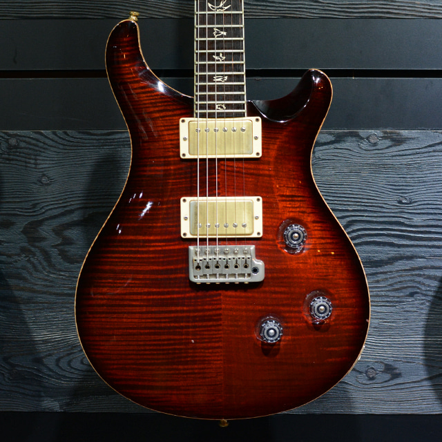[중고] PRS Custom24 25th Anniversary Fire Red Burst 10 Top 2010'