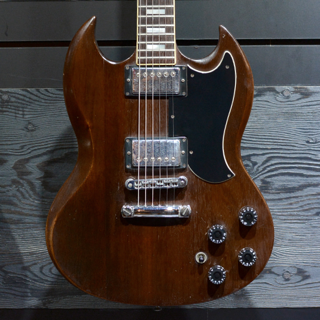 [중고] Gibson SG Standard Walnut Brown 1979'