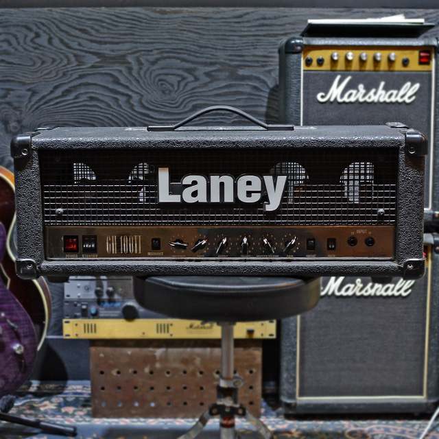 [중고] Laney GH100TI 100 Watt Tony Iommi Signature Tube Amplifier Head