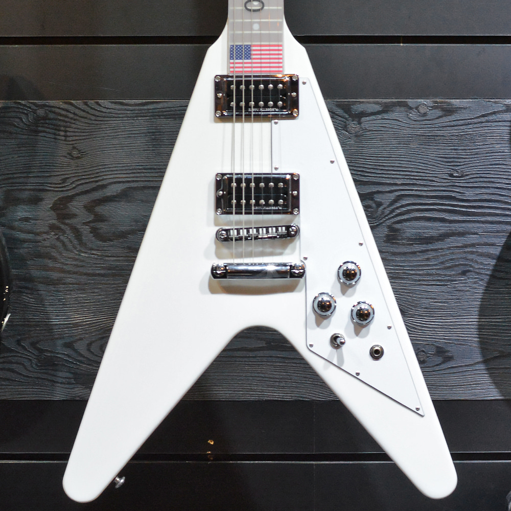 [중고] Gibson Flying V HP Alpine White 2017'