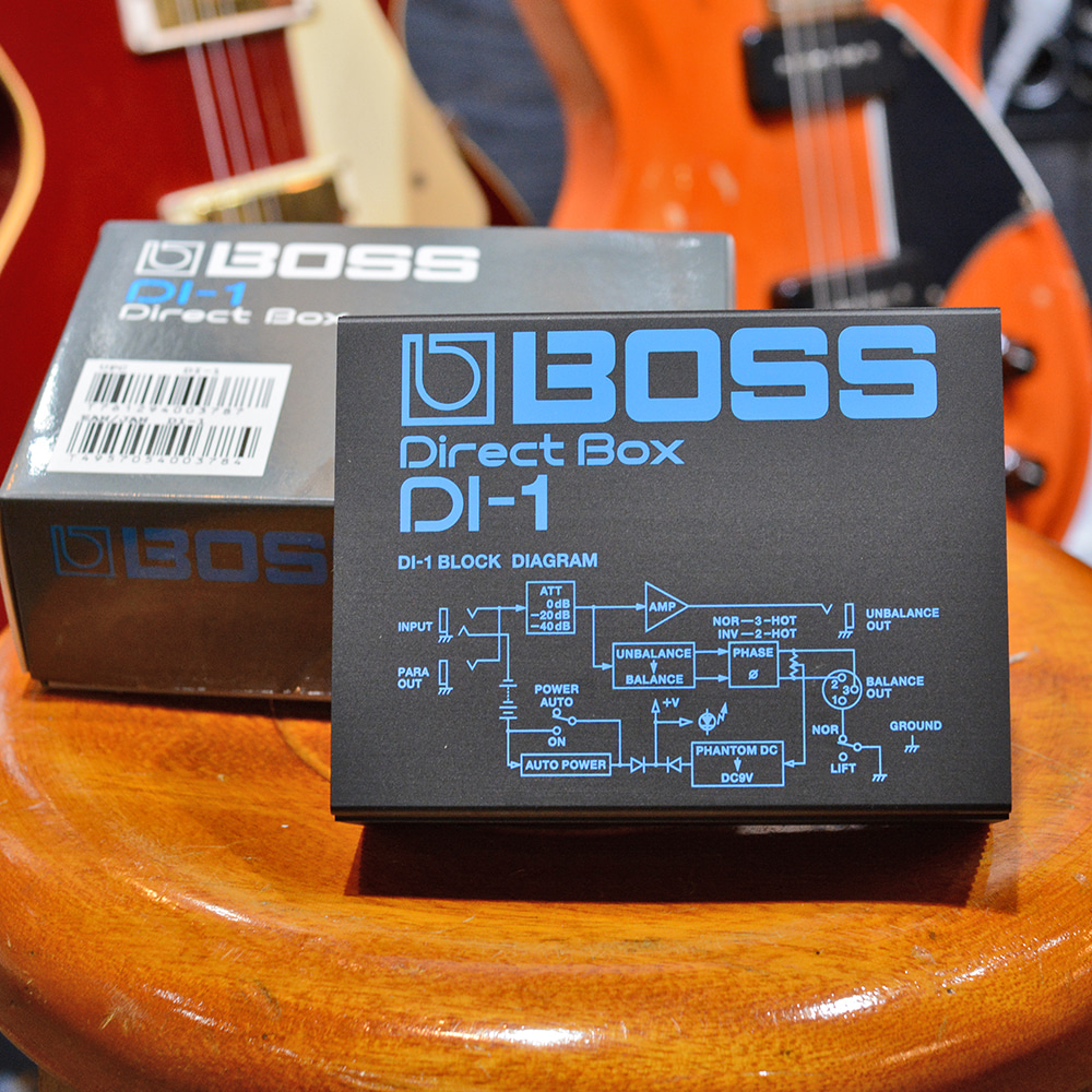 [전시품] Boss Direct Box DI-1