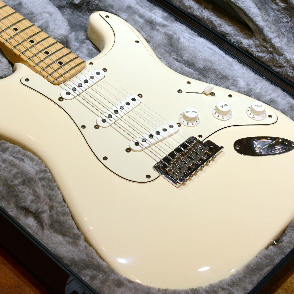 [중고] Fender USA Standard Maple Olympic White 2008'