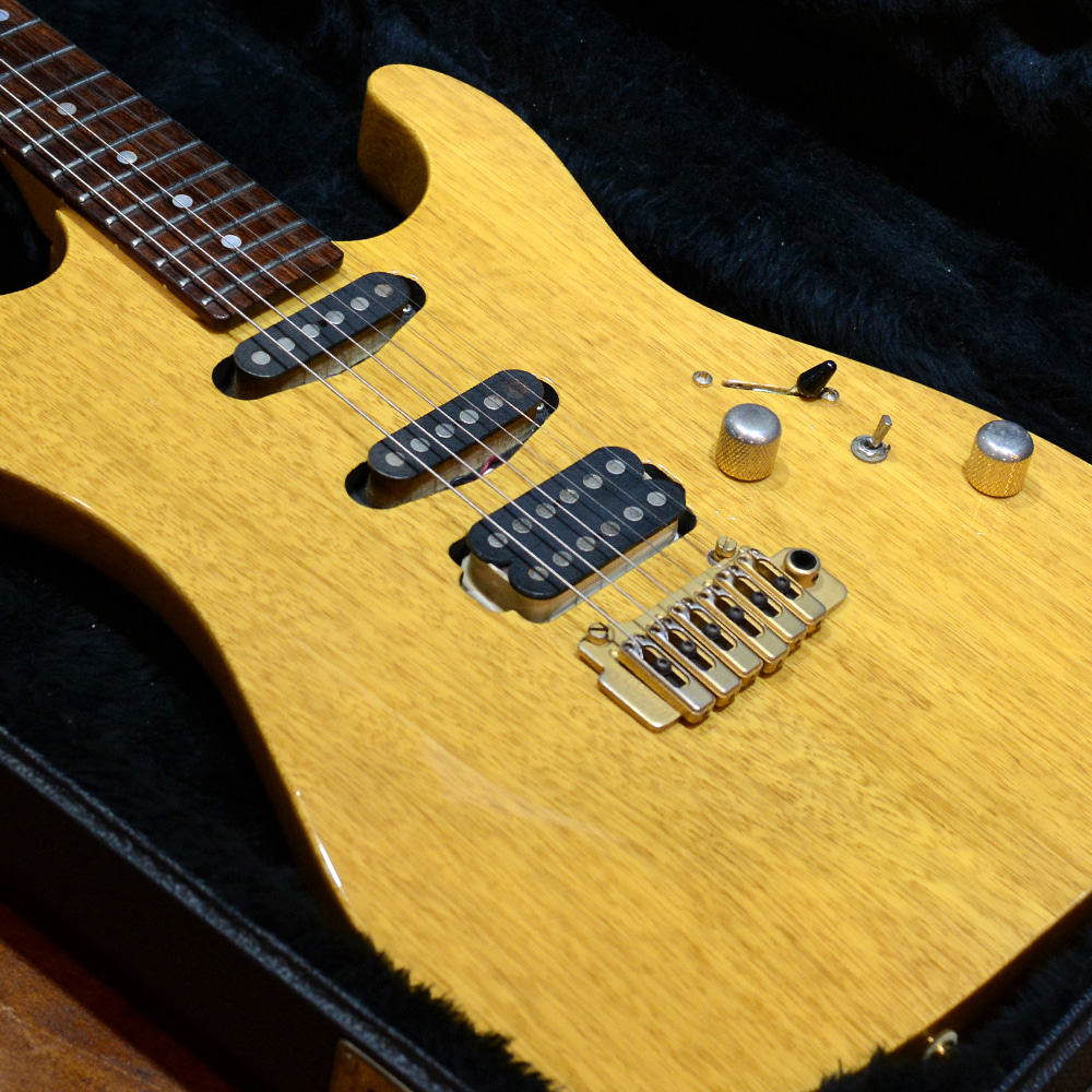 [중고] Schecter USA Custom Shop California Custom Korina 1997'
