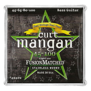 CURT MANGAN - Stainless 45-100 Bass Strings