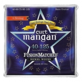 CURT MANGAN - Nicekl 40-125 Bass Strings